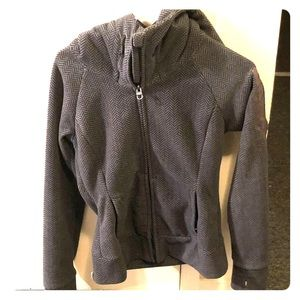 Gray Bench. Hoodie jacket/sweatshirt